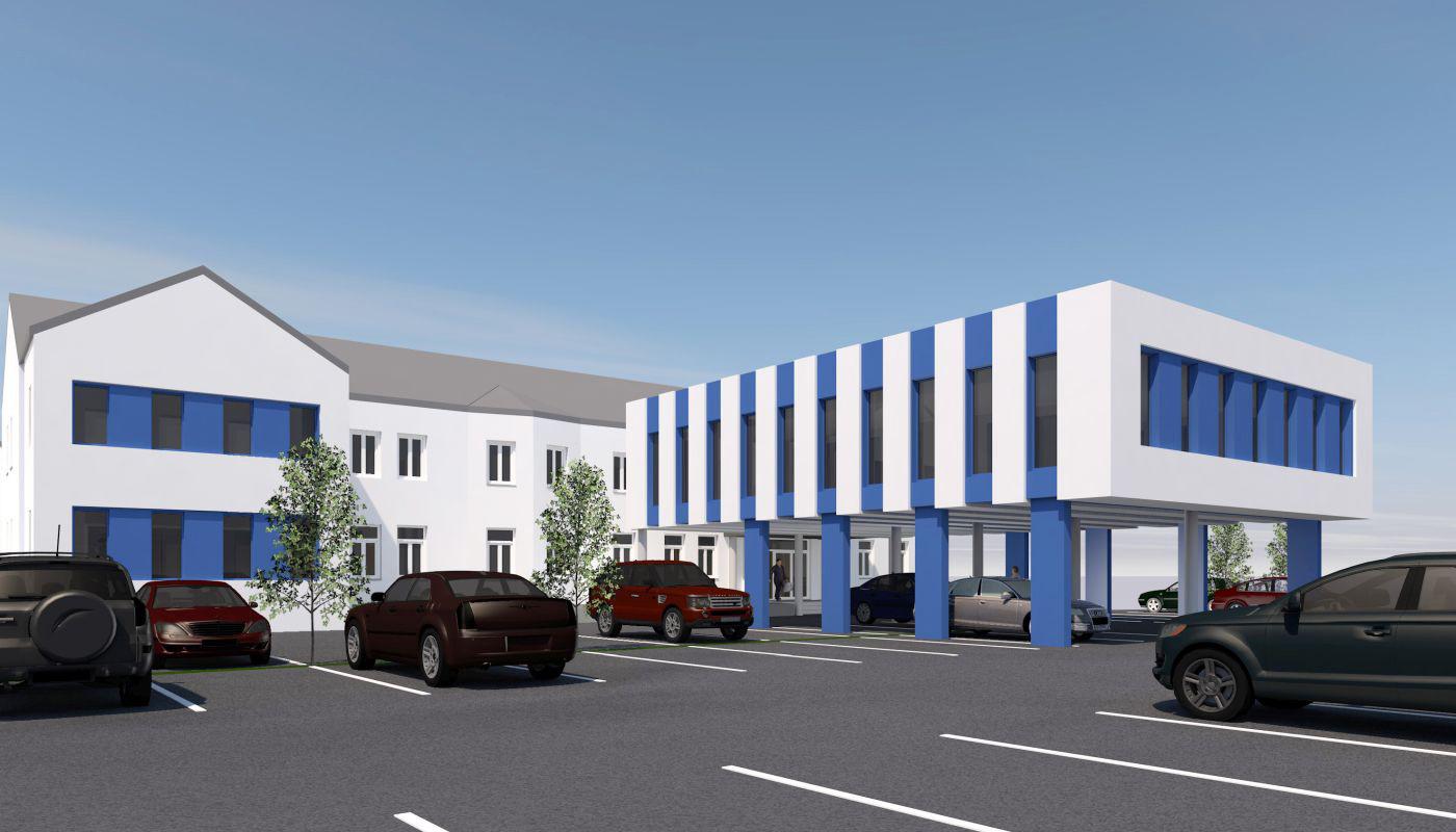 © Architekt Litschauer - projektierter Bürozubau